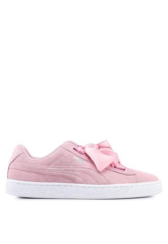 1da144c578375b Buy Puma Sportstyle Prime Suede Heart Galaxy Women s Shoes Online on ZALORA  Singapore