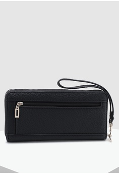 2f8bec792 16% OFF Guess Uptown Chic Large Zip Around Wallet S$ 70.00 NOW S$ 58.90  Sizes One Size
