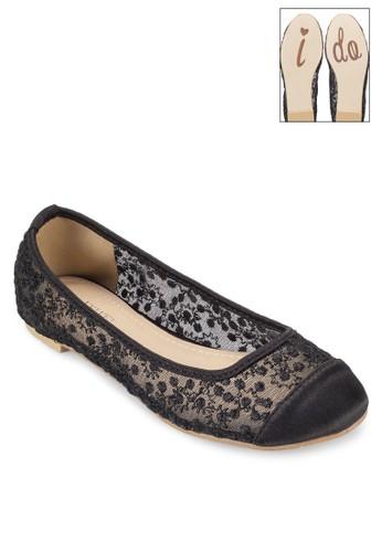 Occasion 鉤針蕾絲平底鞋、 女鞋、 鞋VelvetOccasion鉤針蕾絲平底鞋最新折價
