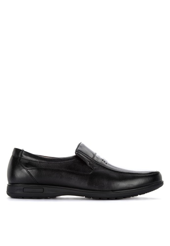 Gibi black Nom 006 Slip-On Formal Shoes E444ESH52DEB63GS_1