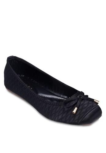 zalora 男鞋 評價蝴蝶結軟襯平底鞋, 女鞋, 鞋