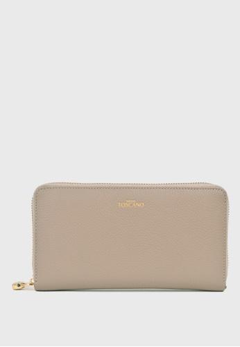 Tocco Toscano grey Aimee Long Wallet (Grey) 286F3ACC2F4659GS_1