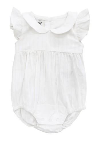 FIYORA white Elyse Cotton Baby Girl Romper 2C0C7KAEFF0D69GS_1