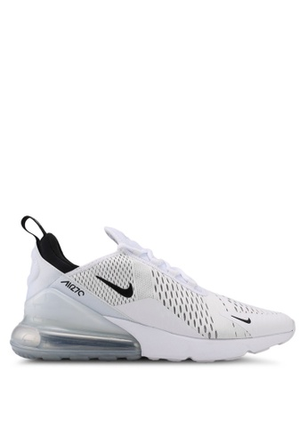 Nike black and white Men's Nike Air Max 270 Shoes 0CBB6SHEC7BA99GS_1