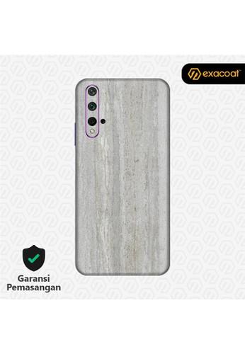 Exacoat Huawei Nova 5T 3M Skins Stone Series - Concrete DEFE3ES9675440GS_1