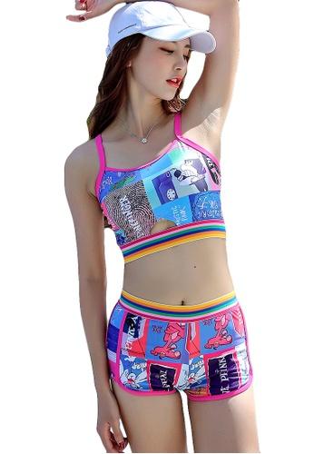 YG Fitness multi (3PCS) Fashion Sporty Bikini Set 05EF8USCF11CF4GS_1