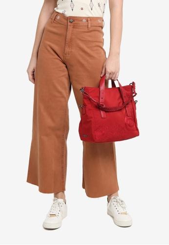 Desigual red Mandalas Handbag F0B88AC5475A18GS_1