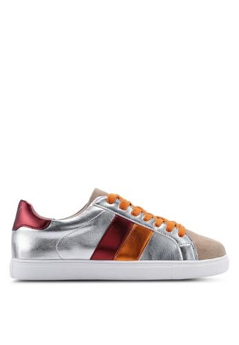 VANESSA WU silver Naomi Sneakers 312F8SH99CD70DGS_1