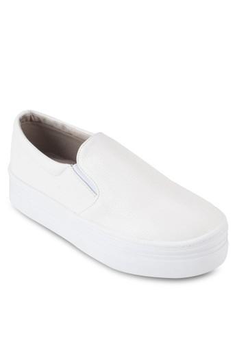 Crystesprit分店al Korea Fashion 簡約皮革懶人鞋, 女鞋, 鞋