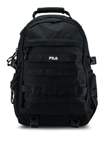FILA black Korea style Backpacks 09694ACBD09976GS_1