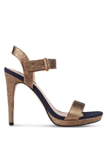 ZALORA gold Classy High Heels 33766SH84F261FGS_1