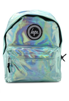 cb1cd2cc Just Hype green Hype Mint Holographic Backpack AA247AC44F7F6DGS_1