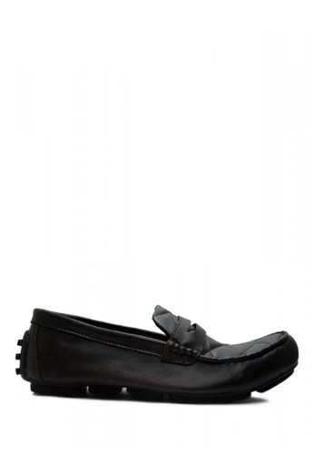 D-Island brown D-Island Shoes Slip On New Driving Comfort Leather Dark Brown DI594SH07ABSID_1