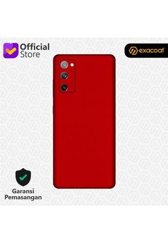 Exacoat Galaxy S20 FE Skins True Colors - Lust Red 256A1ES4BDF541GS_1