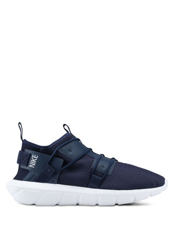 Nike white and navy Nike Vortak Shoes DCAC3SH13E07E9GS_1