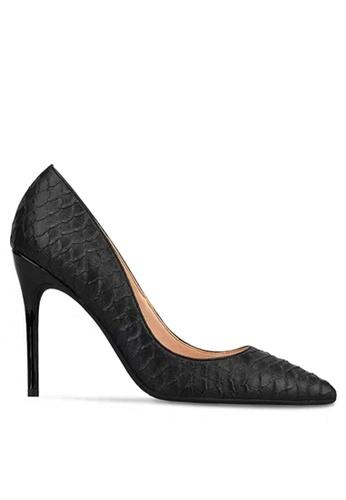 Twenty Eight Shoes 10CM Snake Skin Texture High Heel Shoes D01-s 1CC08SH649658AGS_1