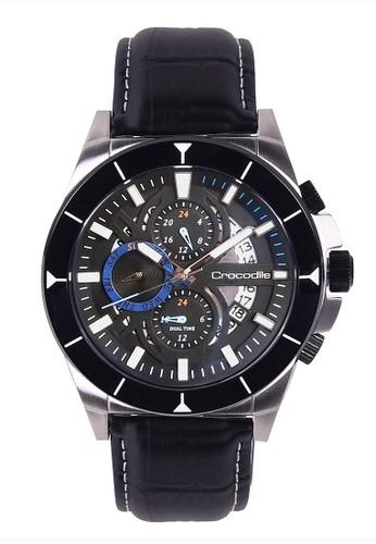Crocodile Timepiece black Crocodile CM-020A24B Jam Tangan Pria 94FF2AC06054CBGS_1