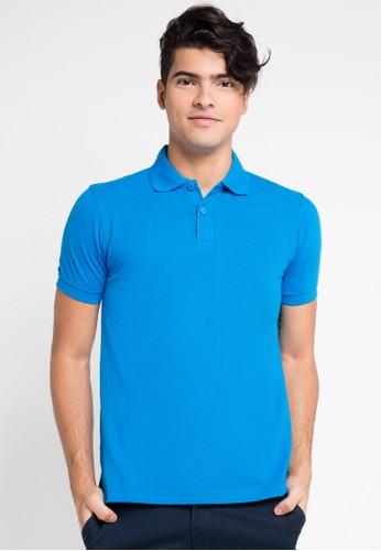 Hassenda blue Short Sleeve HA130AA0VPEYID_1