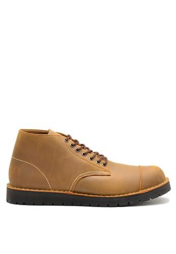 Brodo brown BRODO - Sepatu Pria Alpha Choco Tan BS 87FBBSH2D00307GS_1