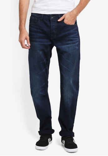 Superdry blue Copperfill Loose Jeans SU137AA0T22GMY_1