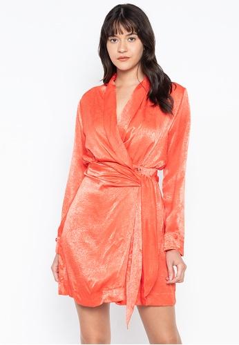 the___edit multi Chloe Wrap Dress 6E83AAA9C8C07DGS_1
