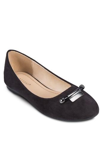 金屬飾娃娃鞋, 女鞋, 芭esprit hk outlet蕾平底鞋