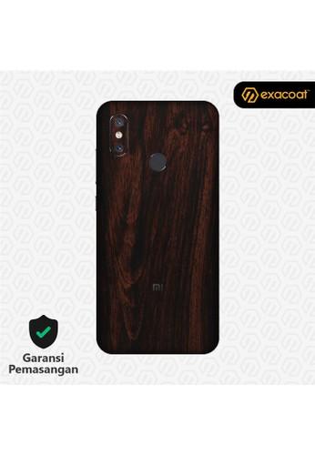 Exacoat Xiaomi Mi 8 Skins Wood Mahogany - Cut Only EAAF5ES93E0230GS_1