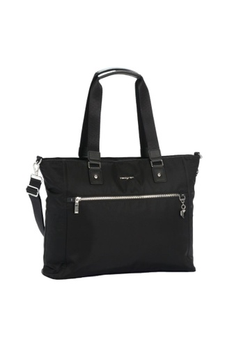 Hedgren black Hedgren Zirconia Tote Bag 14.1 inch Special Black -15.9L D9849AC0ABCCE2GS_1