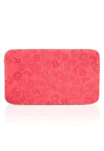 VERNYX - Woman's Flamingo Letter Wallet DO465 Red - Dompet Wanita