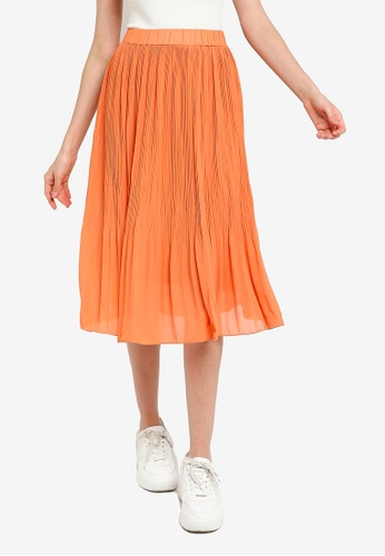 niko and ... orange Casual Woven Skirt 5CCD2AA3D65B15GS_1