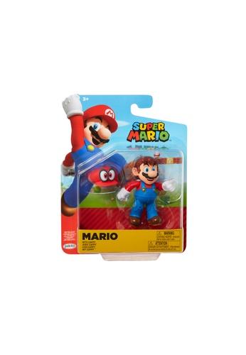Kidmoro Nintendo Super Mario: W19 MARIO w/ CAPPY Poseable 4-inch Figure with Accessories C342AES53FD18CGS_1
