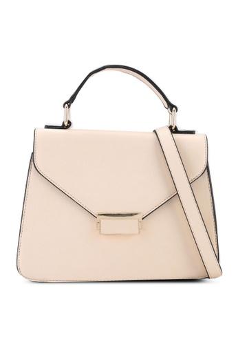 Keddo beige Abigail Sling Bag 73FAEAC6C4BB97GS_1
