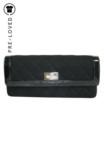 Chanel black Pre-Loved chanel Canvas East West Bag A61AEAC2262D8DGS_1