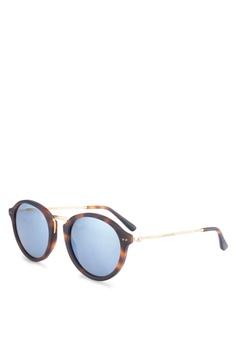 5ef46b725ed9f6 Kapten & Son black and brown Maui Sunglasses KA431GL0SF5QMY_1