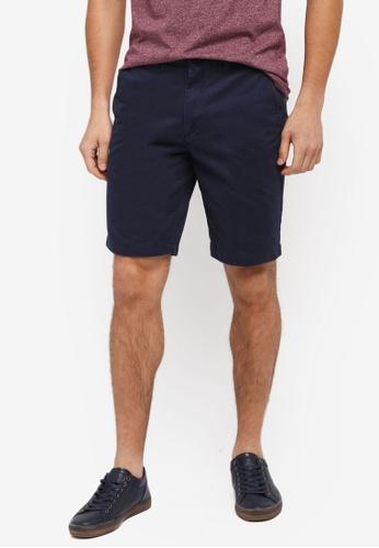 Jack Wills 海軍藍色 Widmore Chino Shorts 087E0AAD1F7E67GS_1