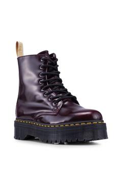 5047b22b01 Dr. Martens Vegan Jadon II 8 Eye Boots S$ 279.90. Sizes 4 5 7 8 · Dr. Martens  black ...