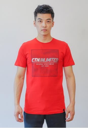 Cheetah red CTH unlimited Short Sleeve T-Shirts - CU-90756 D86FAAAFF2D9C9GS_1