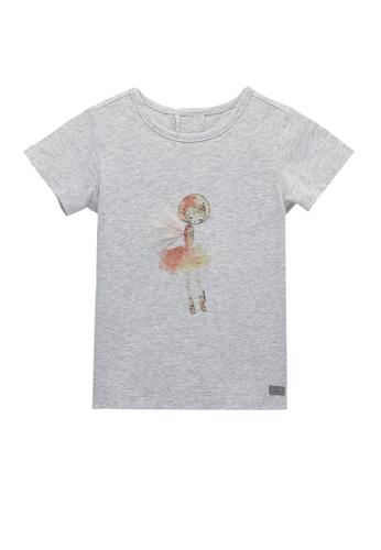 Kingkow grey Cotton T-shirt 2-4 years A6A7FKA0DEFF19GS_1