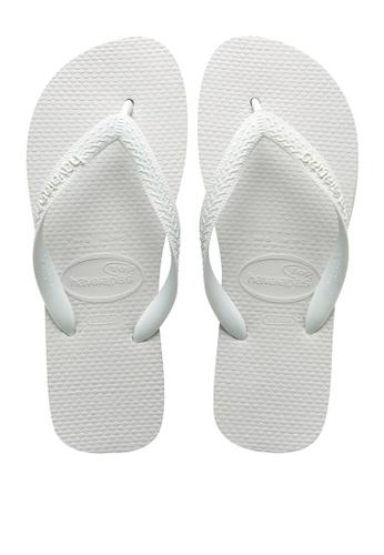 Havaianas white Top Flip Flops CE29BSH164DA66GS_1