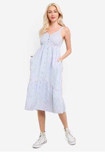 Superdry blue Daisy Midi Dress E7EE6AA1597B15GS_1