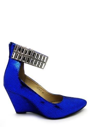 Emily Dillen blue ED Wedges 12633-3 Blue EM028SH87KNKID_1