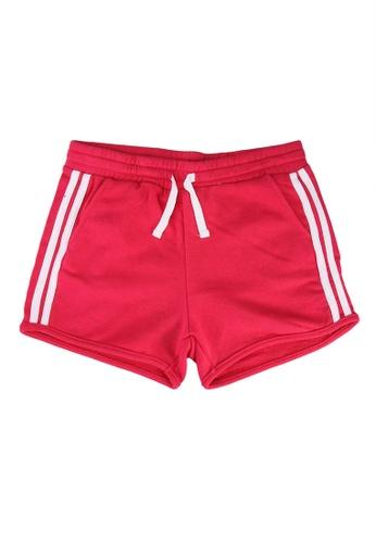 FOX Kids & Baby red Kids Girl Drawstring Jersey Shorts B7F7DKABCB7D9CGS_1