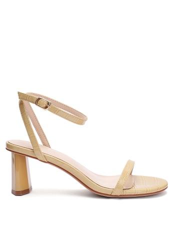 Twenty Eight Shoes Pattern Faux Leather Strap High Heel 369-1 59336SH6AC6D1DGS_1
