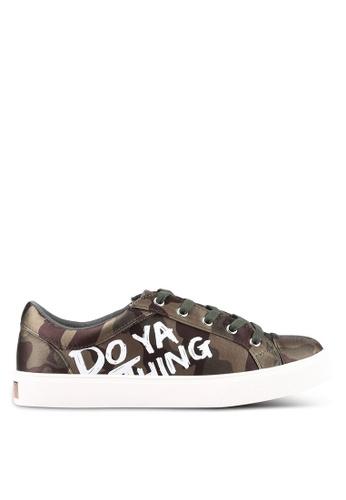 ALDO green and multi Ybilaria Sneakers AL087SH0RQGXMY_1