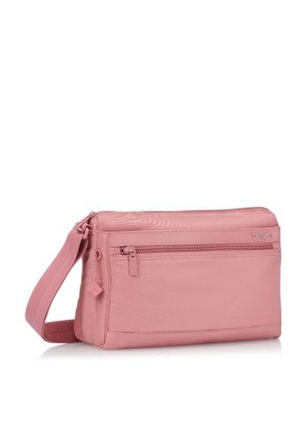 Hedgren pink Hedgren Women Eye M Shoulder Bag Medium RFID Powder Pink - 5.91L 53D4DAC2B659D6GS_1