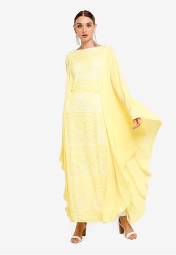3747895e1ea2 Buy Zalia Lace Kaftan Dress Online on ZALORA Singapore