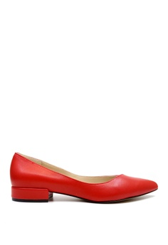 e886f5c2d4fc Kenneth Cole New York red AMES - Pointy Toe Flat 17EC7SHCE5C3F4GS 1