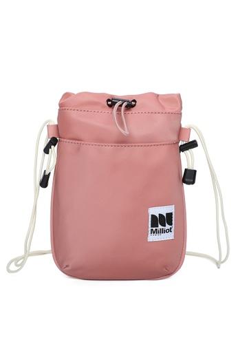 Milliot & Co. pink Bertram Sling Bag DFC10ACC8D55F0GS_1