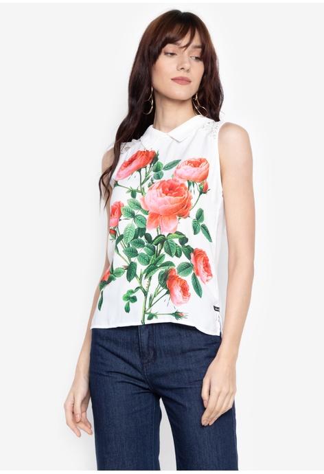 c6a30c4d56f39 Shop Kamiseta Sleeveless for Women Online on ZALORA Philippines