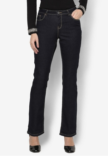 Dorothy Perkins blue Regular - Indigo Bootcut Jeans DO816AA73FCCMY_1